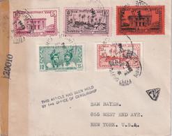 MARTINIQUE 1944 LETTRE CENSUREE DE FORT DE FRANCE - Briefe U. Dokumente