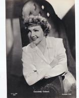 CLAUDETTE COLBERT       PHOTO CARD - Schauspieler