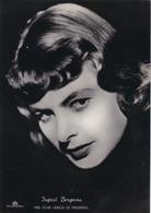 INGRID BERGMAN        PHOTO CARD - Schauspieler