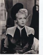 LANA TURNER       PHOTO CARD - Schauspieler