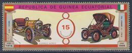 Equatorial Guinea / Guinee Equatorial 1976 Mi 882 CTO - Alba + Fiat Legnano - Veteran Cars / Autocorso / Oldtimers - Auto's