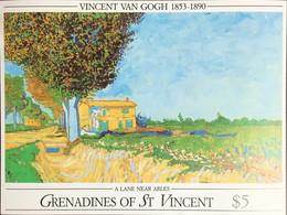 Grenadines Of St Vincent 1991 Van Gogh Minisheet MNH - St.Vincent & Grenadines