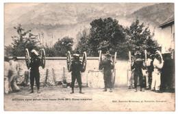 CPA - Carte Postale  France-Militaria- Artilleurs Alpins Portant Leurs Canons 1905  VM39843 - Materiaal