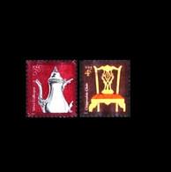 USA: 'Design – Silver Coffeepot & Chippendale Chair, 2004-2007', Mi. 3815+4200; Yv. 3546+3900; Sc. 3754+3755 Oo - Gebraucht