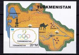 UMM - 1994 Olympics M/s - Turkmenistan