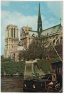 CPSM 75 Paris Notre Dame Et Les Quais De La Seine (1976) - Notre Dame Von Paris
