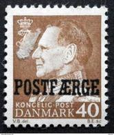Danmark 1967     MiNr.41 MNH (**) (parti G 1226 ) - Paketmarken