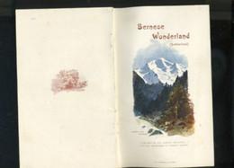 Livre - Brochure - Guide Touristique - Bernese Wonderland - Suisse -canton De Berne - Europa