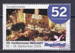 BRD Privatpost Regio Mail (52 Cent) Heilbronner Weindorf (A1-23) - Private & Local Mails