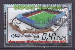 BRD Privatpost MZZ Briefdienst (41 Cent) Erdgas Sportpark (A1-23) - Private & Local Mails