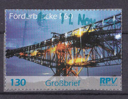 BRD Privatpost RPV Briefservice (130 Cent) Förderbrücke F-60 (A1-23) - Private & Local Mails