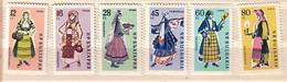 1961  COSTUMES  6v.-MNH  BULGARIA  / Bulgarie - Ungebraucht