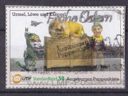 BRD Privatpost LMF (50 Cent) Augsburger Puppenkiste Urmel-Löwe Und Kasperl (A1-23) - Private & Local Mails