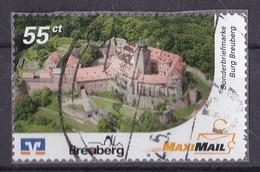 BRD Privatpost MAXI MAIL (55 Cent) Breuberg Burg Breuberg (A1-23) - Private & Local Mails