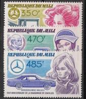 Mali - 1984 - Poste Aérienne PA N°Yv. 495 à 497 - Daimler - Neuf Luxe ** / MNH / Postfrisch - Auto's
