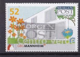 BRD Privatpost Morgen Post (52 Cent) GBG Mannheim (A1-23) - Private & Local Mails