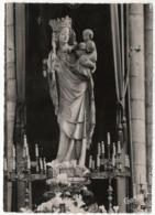 CPSM 75 Paris La Vierge De Notre Dame - Notre Dame Von Paris