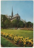 CPSM 75 Paris Notre Dame Et Le Square De L'Archevêché (1970) - Notre Dame Von Paris