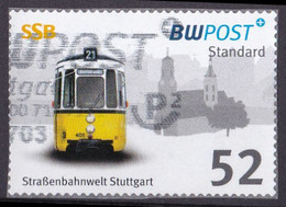 BRD Privatpost BW Post (52 Cent) Strassenbahnwelt Stuttgart (A1-23) - Private & Local Mails
