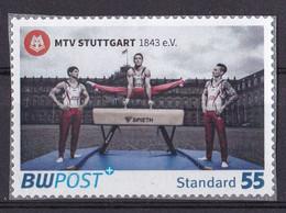 BRD Privatpost BW Post (55 Cent) MTV Stuttgart (A1-23) - Private & Local Mails