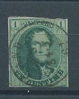 """N°9 OBLITERE """"GAND"""" - 1858-1862 Medaglioni (9/12)"""