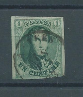 "N°9 OBLITERE ""ANVERS"" - 1858-1862 Medaglioni (9/12)"