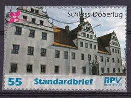 BRD Privatpost RPV Briefservice (55 Cent) Schloss Döberlug (A1-24) - Private & Local Mails