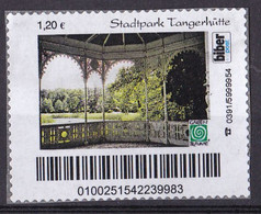 BRD Privatpost Biberpost (120 Cent) Stadtpark Tangerhütte (A1-24) - Private & Local Mails