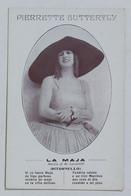 34589 Cartolina - Pierrette Butterfly - La Maja - Schauspieler