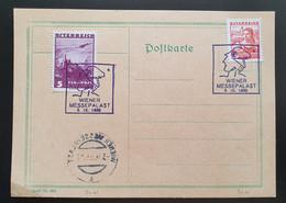 Österreich 1935, Postkarte WIENER MESSEPALAST Sonderstempel - Brieven En Documenten
