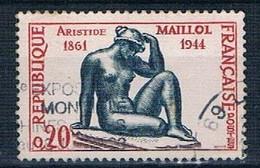 1961 Aristide Maillol YT 1281 - Usati