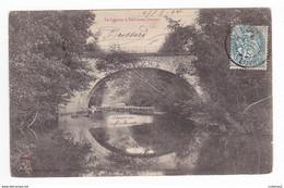 42 Le Lignon à SAIL SOUS COUZAN Pont Vers Montbrison Avant 1904 VOIR DOS Non Séparé édit Nouvelles Galeries St Etienne - Montbrison