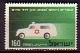 ISRAEL - 1955 - 25ans Du Croix-Rouge D'Israel - 160p - Obl. - Yv 96 - Gebraucht (ohne Tabs)