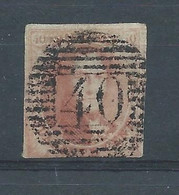 """N°5a OBLITERE P 40""""FLORENNES"""" - 1849-1850 Medaglioni (3/5)"""