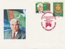 Turkmenistan 1997 Special Cover - Turkmenistan