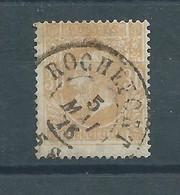 """N° 33 OBLITERE""""ROCHEFORT"""" - 1869-1883 Leopoldo II"""