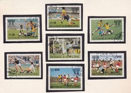 ARGENTINA 1978 CHAMPIONSHIP, FOOTBALL WORLD CUP. ÉNORME COMPOSITION AVEC SÉRIES DE DIVERS PAYS, LOT LOTE.- LILHU - 1978 – Argentine