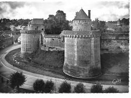 35 FOUGERES Le Château Cachet Privé Type 2 - Fougeres