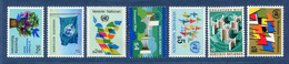 ⭐ Nations Unies - Vienne - YT N° 1 à 7 ** - Neuf Sans Charnière - 1979 à 1980 ⭐ - Ungebraucht