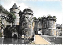 35 FOUGERES Le Château Porte Notre Dame Cachet Privé Type 2 - Fougeres