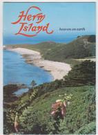 Herm Island (Guernsey) ' ....Heaven On Earth' Brochure - Europa