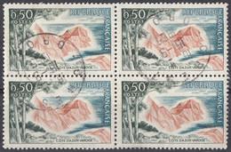 FRANCE - 1963 - Quartina Usata Di Yvert 1391. - Usati