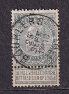[63_0008] Zegel 63 Met Cirkelstempel Bourlers Scan Voor- En Achterzijde - 1893-1900 Barba Corta