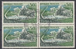 FRANCE - 1962 - Quartina Usata Di Yvert 1314. - Usati