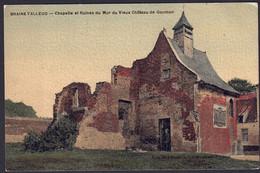 +++ CPA - BRAINE L'ALLEUD - Chapelle Et Ruines Du Mur Du Vieux Château De GOUMON   // - Braine-l'Alleud