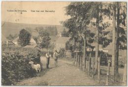 LOT_DCP0030 BACONFOY Carte Tres Ancien Et Beau VALLEE DE L'OURTHE 1925 - Tenneville
