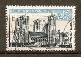 1960 - Série Touristique - Cathédrale De Laon - N°1235 - Usati