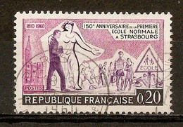 1960 - Sesquicentenaire Ecole Normale De Strasbourg - N°1254 - Usati