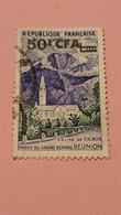 FRANCE - REUNION - Ex-colonie Française - Timbre 1960 : Eglise De Cilaos - Massif Du Grand Bénard - Réunion - Oblitérés