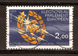 1984 - 2es élections Au Parlement Européen - N°2306 - Gebraucht